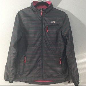 New Balance Pink and Gray Jacket/Shell